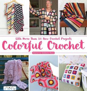 colorful crochet cover